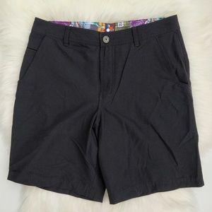 Lululemon Kahuna Casual Black Shorts Men's 34